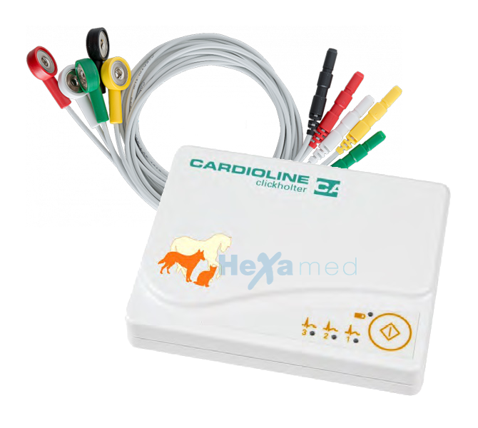 holter cardioline pour animaux